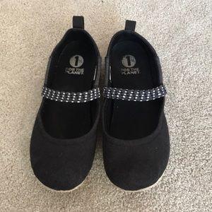 Patagonia Black soft flat slip on shoes. Size 7.